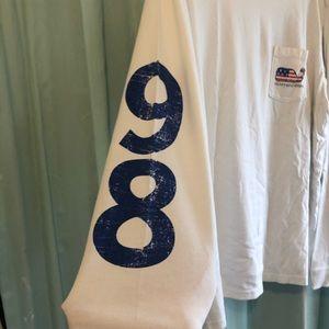 Vineyard Vines Shirts - Vineyard Vines    American Flag '89 long sleeve